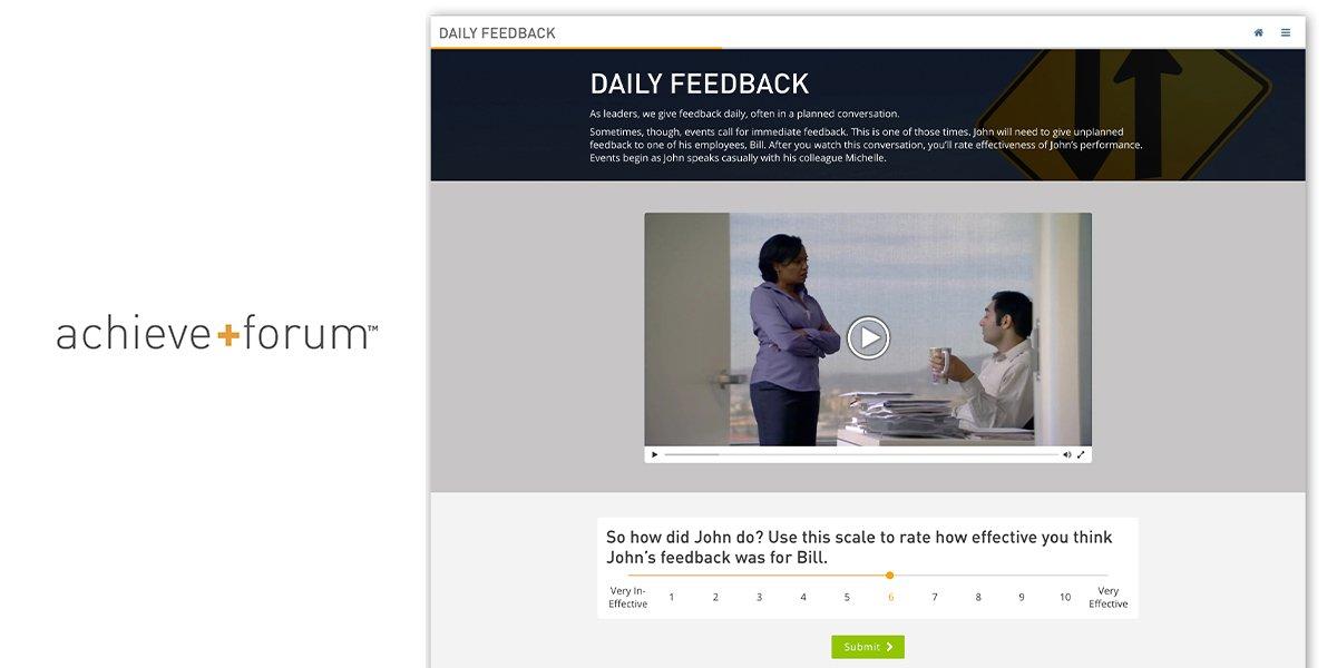Achieve+Forum Case Study